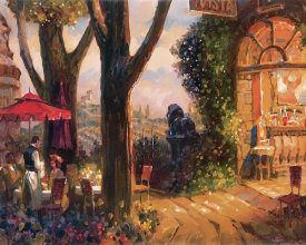 Leland Beaman - Tuscan Evening In The Square