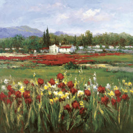 Hulsey - Red Flower Field