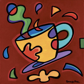 Sonya Paz - Red Coffee Mug