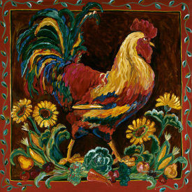Suzanne Etienne - Rooster Rustic