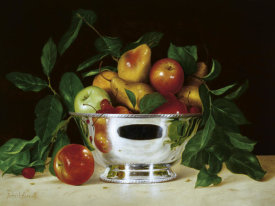 Patrick Farrell - Fruit In A Bowl of Silver