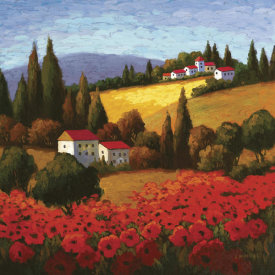 Parrocel - Tuscan Poppies