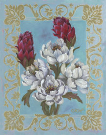 Shari White - Peonies At The Breakers