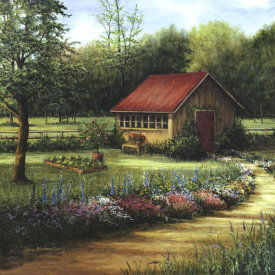 Lene Alston Casey - Garden Cottage