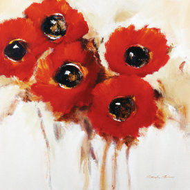 Natasha Barnes - Crimson Poppies II