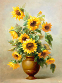Welby - Sunflowers In Bronze II