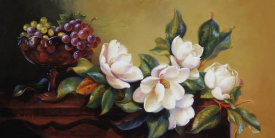 Fran Di Giacomo - Magnolia With Grapes