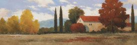 Kanayo Ede - Burgundy Farmhouse I