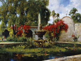Cyrus Afsary - Fountain At San Juan Capistrano
