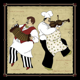 Inc. CW Designs - Musical Chefs I