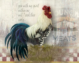 Alma Lee - Checkerboard Rooster