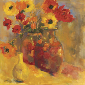 Lorrie Lane - Poppies In Jugs