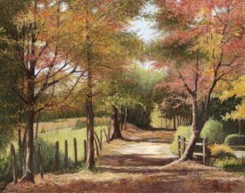 Lene Alston Casey - Autumn Country Road