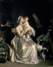 Marguerite Gerard - Motherhood, 1805