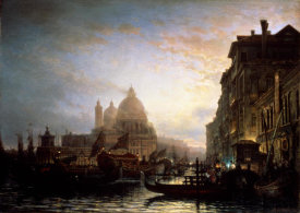 Alexej Bogoljubov - Venice at Night