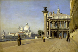 Jean-Baptiste-Camille Corot - Morning in Venice