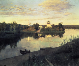 Isaac Levitan - Evening Bells, 1892