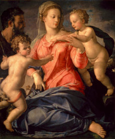 Agnolo Bronzino - The Holy Family
