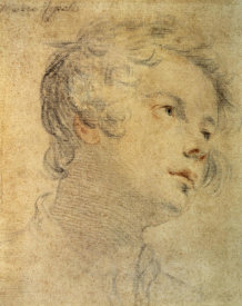 Matteo Rosselli - Head of a Youth