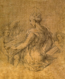 F. Parmigianino - Lady with Angels