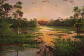 Paulsen - Sunset on the Bayou
