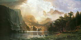 Albert Bierstadt - Sierra Nevada in California