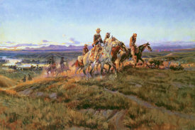 Charles M. Russell - Men of the Open Range