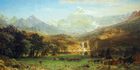 Albert Bierstadt - The Rocky Mountains, Lander's Peak