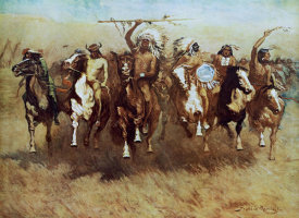 Frederic Remington - Victory Dance