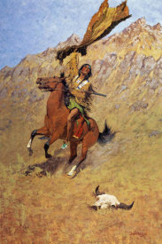 Frederic Remington - If Skulls Could Speak