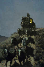 Frederic Remington - The Old Stage Coach Of The Plains