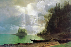 Albert Bierstadt - The Island