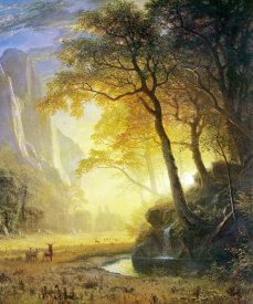 Albert Bierstadt - Hetch Hetchy Canyon