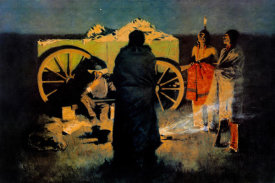 Frederic Remington - Shotgun Hospitality