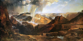 Thomas Moran - The Chasm of the Colorado