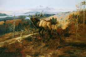 Charles M. Russell - The Elk