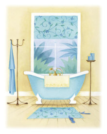 Alexandra Burnett - Cream Bathroom II