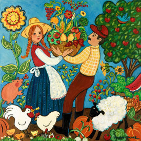 Suzanne Etienne - Farm Couple