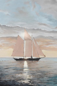 Robert G. Radcliffe - Schooner in the Sun