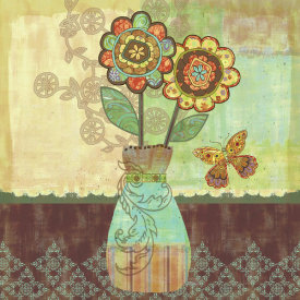 Wendy Bentley - Bohemian Floral II