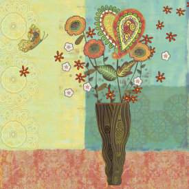 Wendy Bentley - Bohemian Floral I