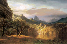 Albert Bierstadt - In the Valley
