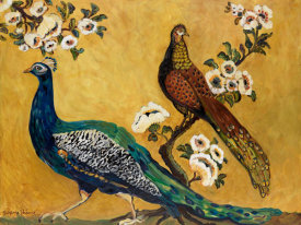 Suzanne Etienne - Peacocks