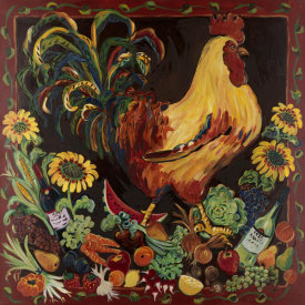 Suzanne Etienne - Wine & Rooster