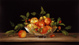 Patrick Farrell - Water Lily Bowl & Fruit