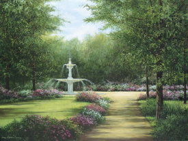 Lene Alston Casey - Park Fountain
