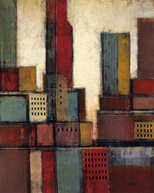 Joel David Holsinger - City Block Skyline II