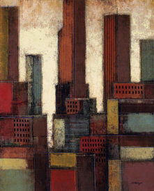 Joel David Holsinger - City Block Skyline IV