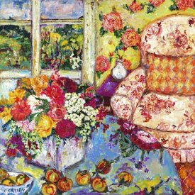 Cynthia Gatien - Interior with Toile Chair