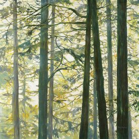 Cheryl Fortier - Trees in Fog I